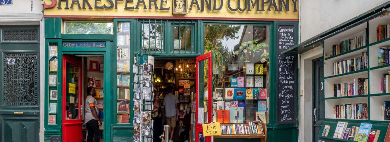 Iconic Paris Book Store Shakespeare and Company in Pandemic Misery