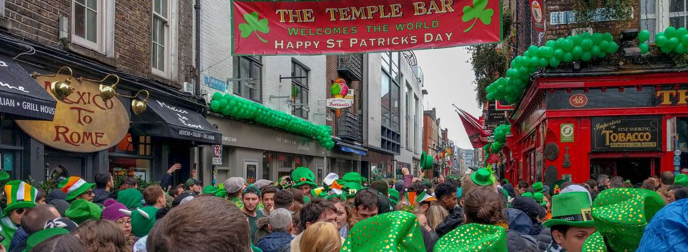 St. Patrick's Day Goes Virtual