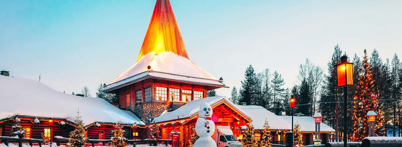Visit Santa in Finland with his Official Airline