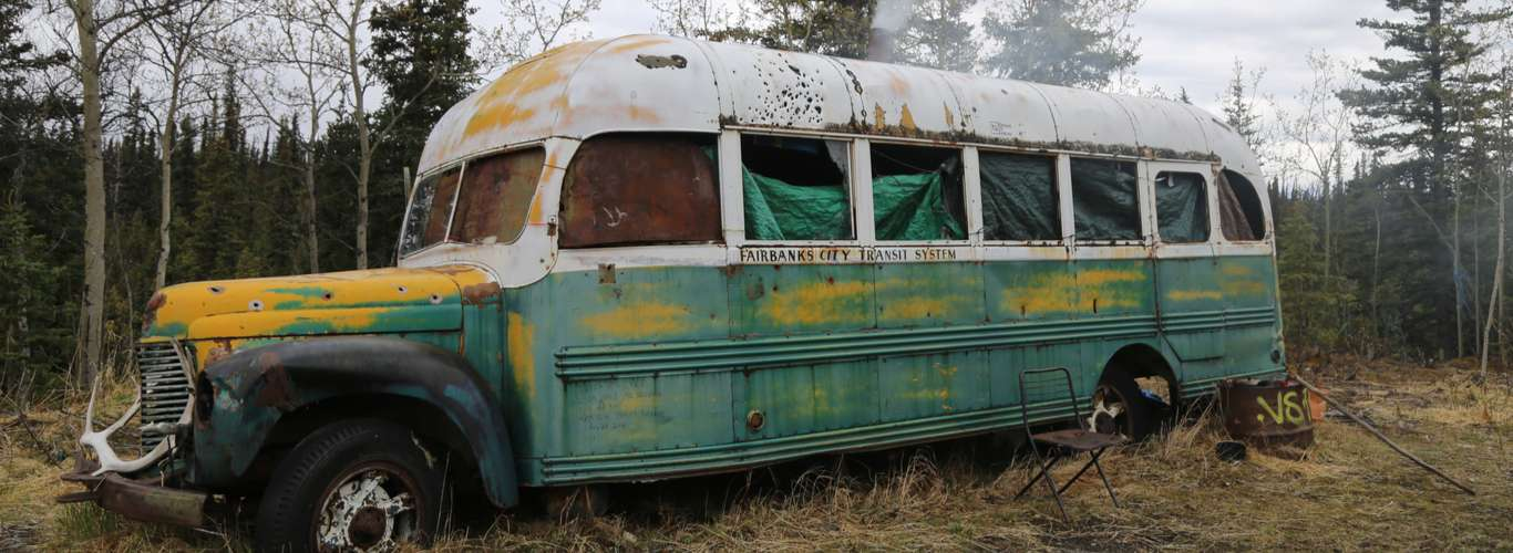 The Bus From Into The Wild is a Museum Exhibit Now