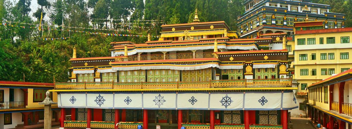 Buddhist Monasteries in India See Rise in COVID-19 Positive Cases