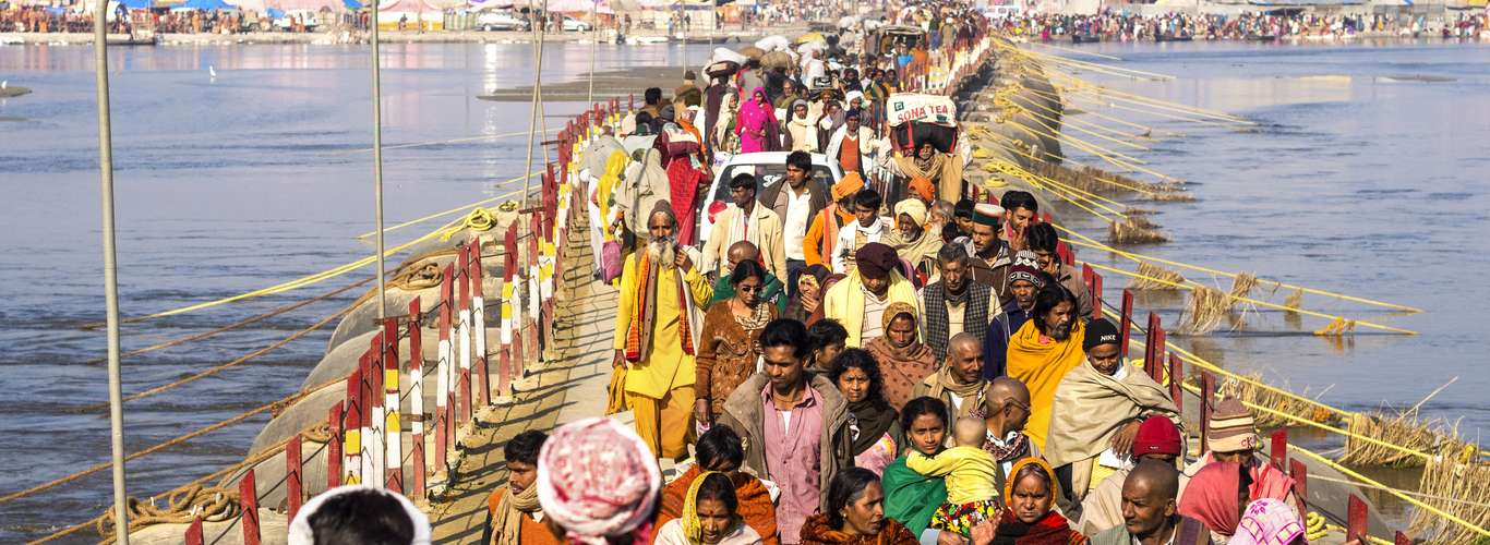 Hovercrafts are Coming up for Maha Kumbh