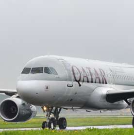 World's First Fully Vaccinated Flight Departs from Qatar