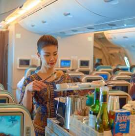 Singapore Airlines may Soon Have the World's Fully-Vaccinated Crew