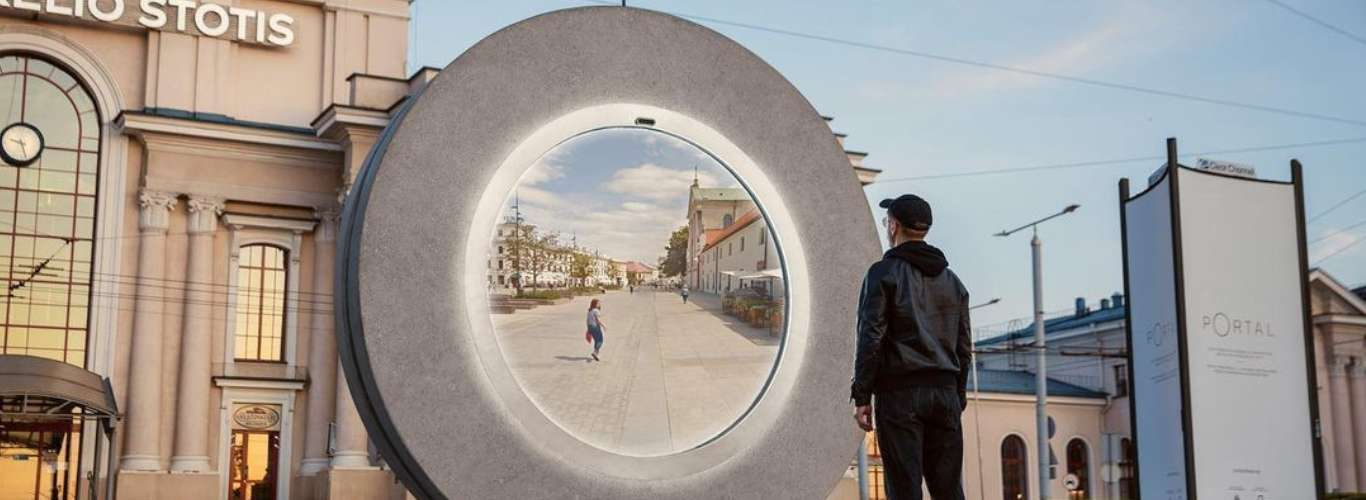 Real Time Digital Portals for a Glimpse Into Other Cities