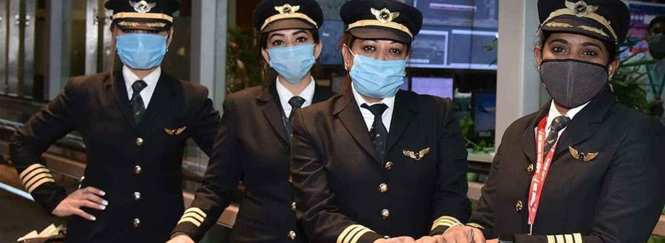 All-Women Crew Marks History with Air India's Longest Commercial Flight