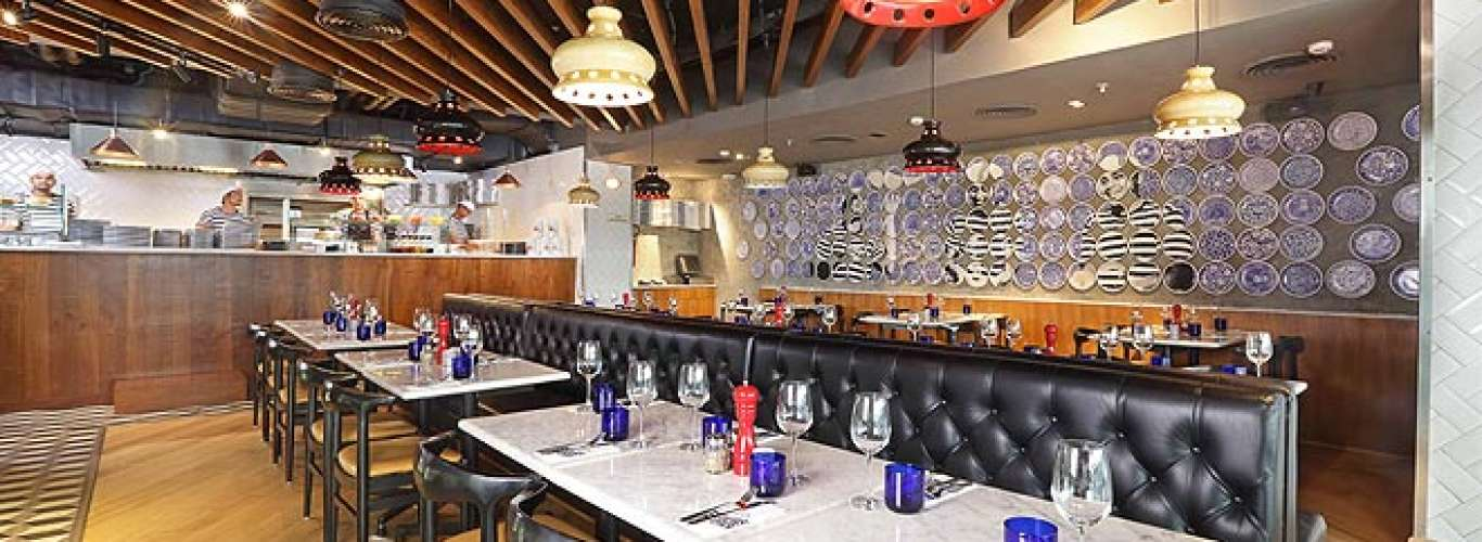 Looking for gourmet pizzas in Delhi? Head to PizzaExpress at Ambience Mall