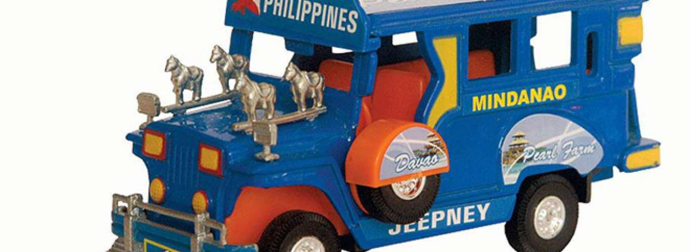 Miniature Jeepney from Manila