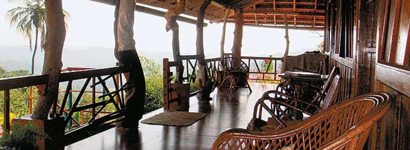 A homestay in Coorg