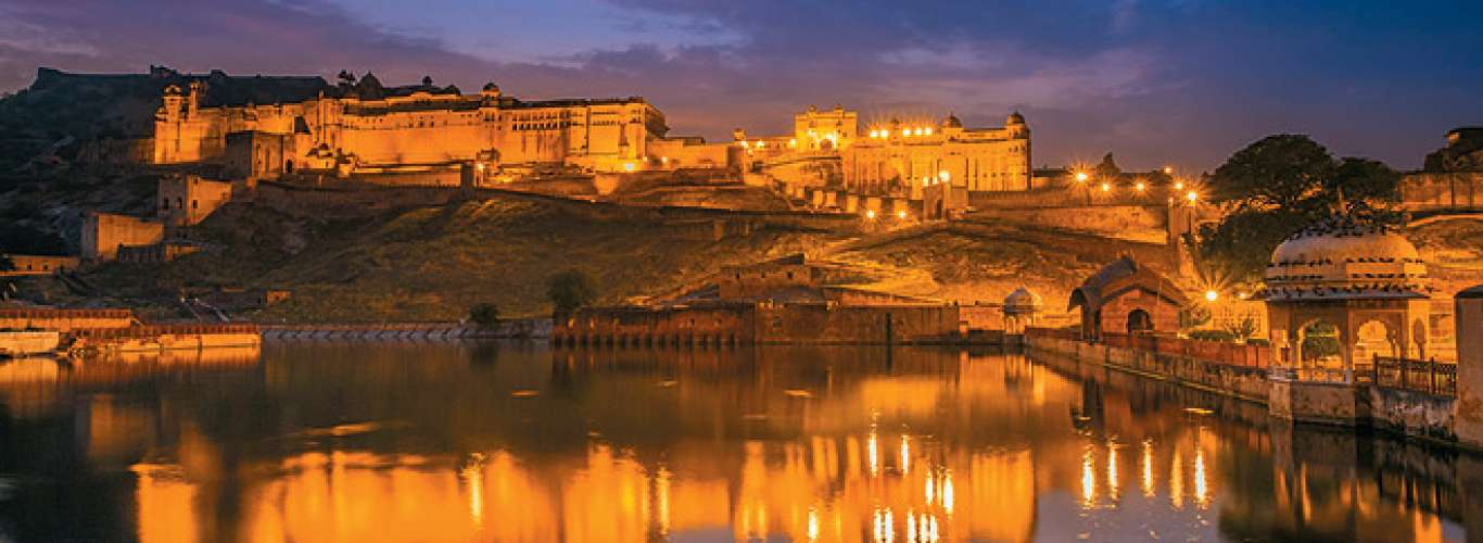 Night tour of Amer Fort