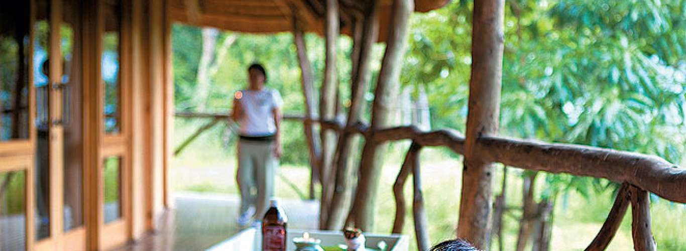 For a safari and spa experience in South Africa