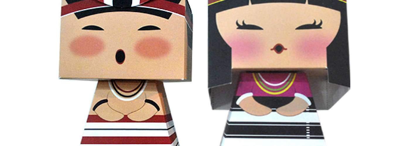 Paper dolls: Souvenirs from Manipur