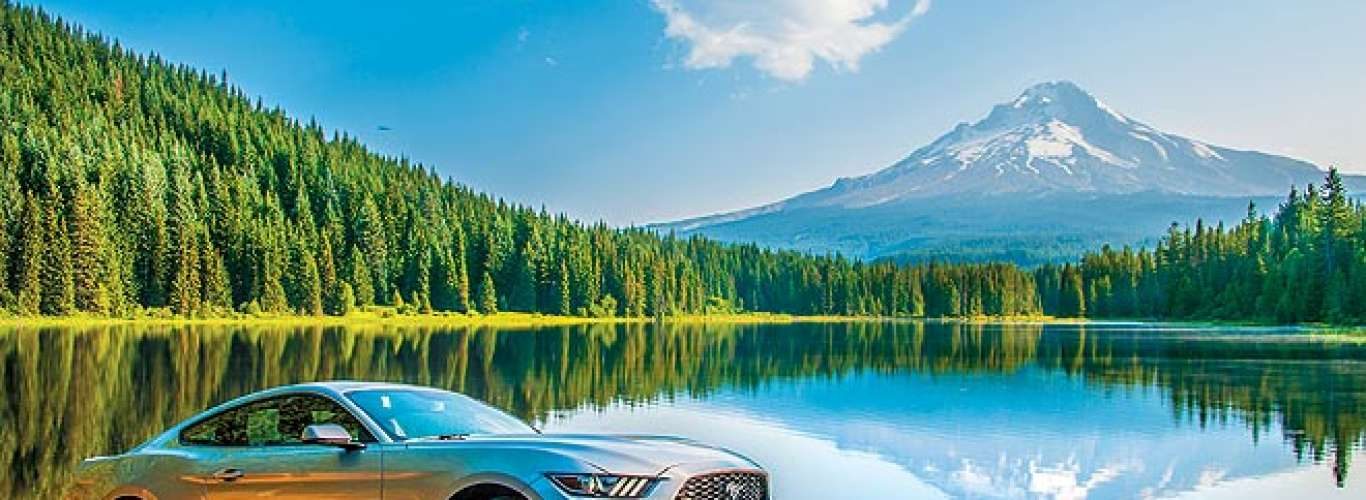 USA: Driving around America in a Mustang