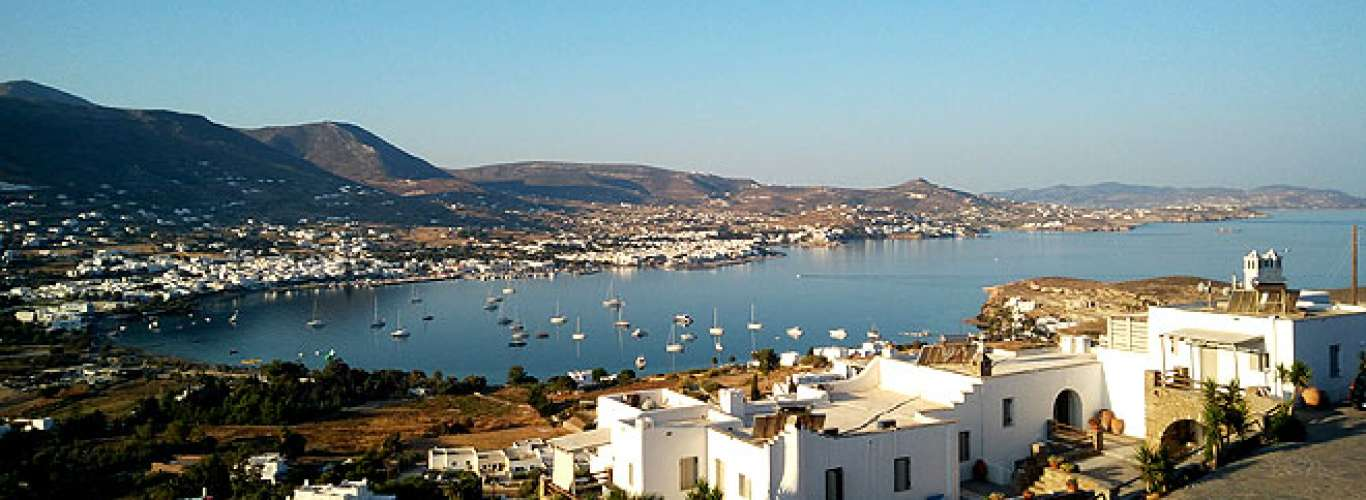 Greece: Soak in the sunshine at Paros