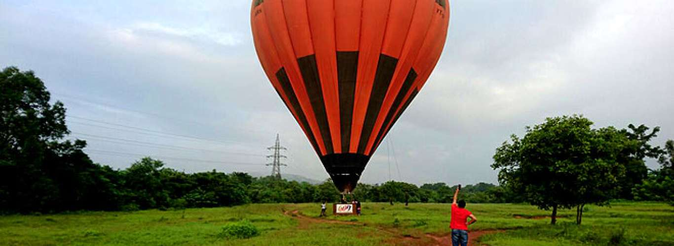 Goa: Hot air ballooning is back