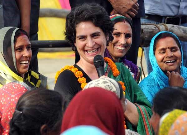 Priyanka Gandhi To Represent Congress In Upcoming Uttar Pradesh Polls