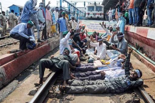 'Rail Roko' Hits Railway Operations in Punjab And Haryana