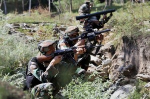 Army Says Poonch Operation Is On