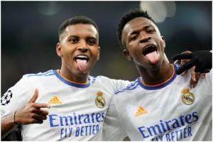Five-Star Real Madrid Ride On Junior Brace against Shakhtar Donetsk