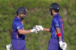 IND Vs AUS, T20 WC, Warm-Up: KL Rahul Departs After Hitting 39; Target - 153