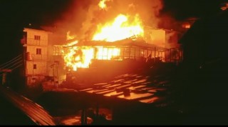 Himachal: Massive Fire At Malana Village, Dozen Homes Gutted And Reduced To Ashes