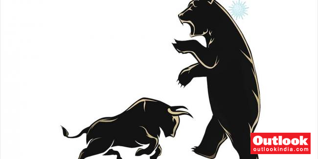 The Mysterious Bull! In This Great Lockdown, Why Some Stocks Shot Up By 60-70 Per Cent   Outlook India Magazine