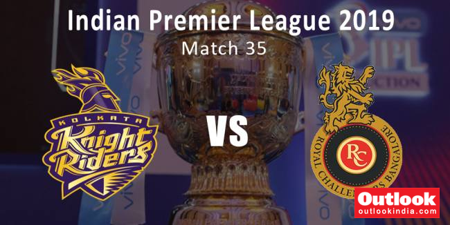 IPL 2019, Live Cricket Score, Kolkata Knight Riders Vs Royal Challengers Bangalore: RCB Fancy Win Against A Disturbed KKR