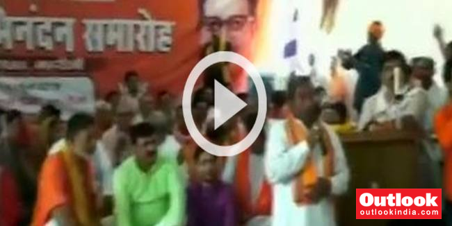 WATCH | Hit Govt Officials With Shoes If They Don't Respect Our Members: BJP MLA Tells Party Workers