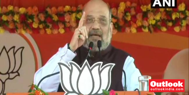 Amit Shah Kicks Off Jharkhand Poll Campaign, Thanks CM For 'Freeing' State Of Naxalism
