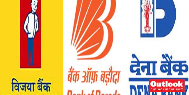 govt announces merger of vijaya bank  dena bank and bank