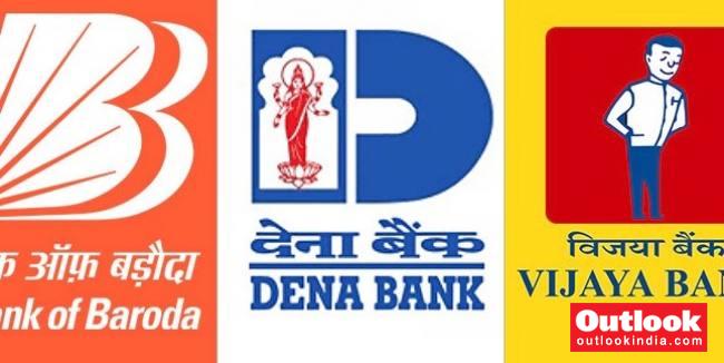 dena bank  vijaya bank merger with bank of baroda  what u0026 39 s