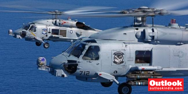 After 48 Years Of Wait, India To Get 24 MH 60R Choppers From US To Replace Its Sea King Fleet