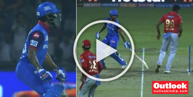 Ashwin Tries To Mankad Dhawan, Here's What He Gets – WATCH