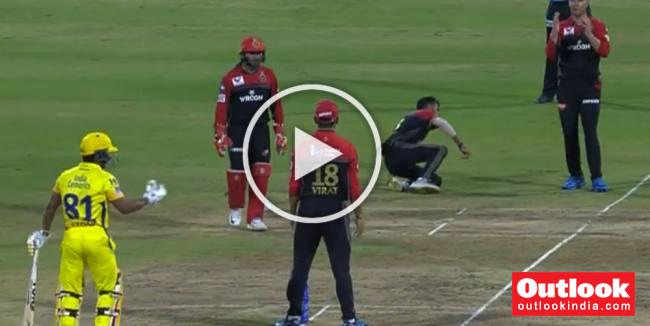 RCB Incompetence Against CSK Leaves Captain Virat Kohli Fuming – WATCH