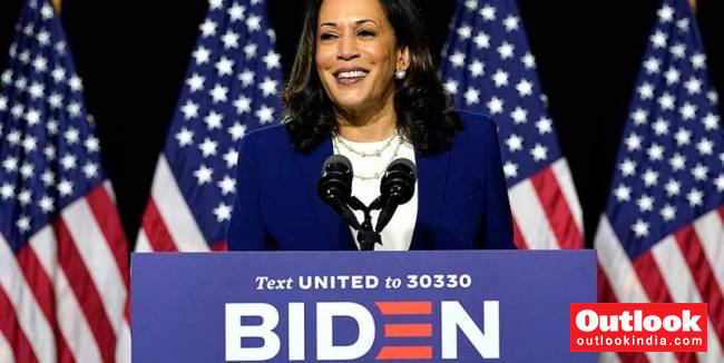 www.outlookindia.com: Kamala Harris Sworn In As First Woman Vice President Of The United States