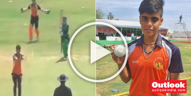 Chandigarh's Kashvee Gautam Becomes First Indian To Claim All 10 Wickets In Limited Overs Cricket: WATCH