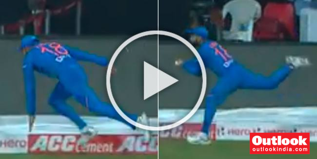IND Vs WI, 2nd T20I: Virat Kohli's Stunning Catch Gives Indian Fans Rare Joy In Humiliating Defeat - WATCH