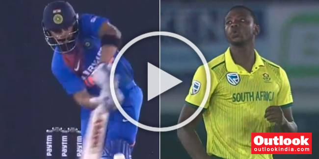 India Vs South Africa, 2nd T20I: Record-Breaking Virat Kohli Tops His Brilliant Knock With Slickest Of Sixes – WATCH