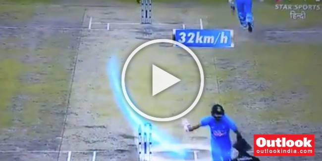WATCH: Kohli Clocks Stunning 32 Kmph While Taking A Single