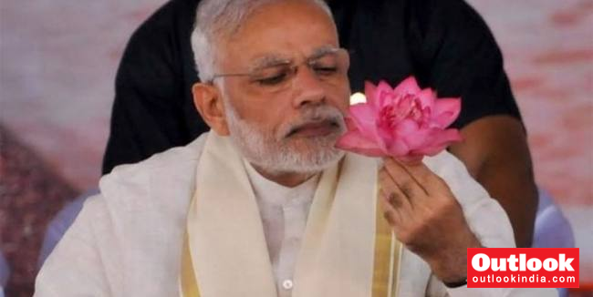 More You Throw Mud At Bjp The More Lotus Will Bloom Modi