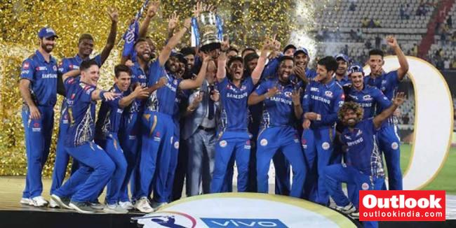 Mumbai Indians IPL Trophy F 356920.