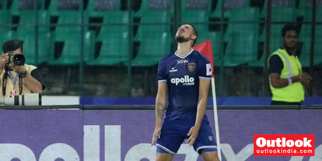 ISL: Chennaiyin FC Trounce Jamshedpur FC 4-1, Keep Play-Off Hopes Alive