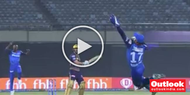 WATCH: Pant Takes Stunning Catch To Dismiss Uthappa At Eden Gardens