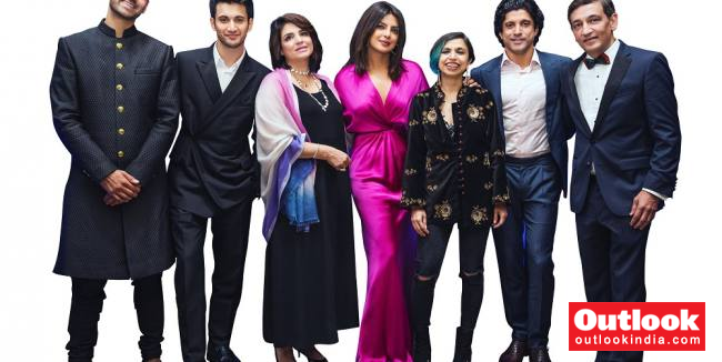 'The Sky Is Pink': When Priyanka Chopra Jonas, Farhan Akhtar And Rohit Saraf Met The Chaudhary's At TIFF 2019