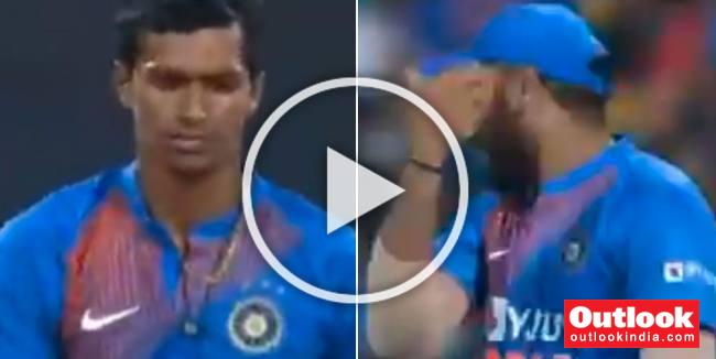 WATCH: In One Heated Moment, Furious Rohit Sharma Tells 'Errant' Navdeep Saini To Use His Head