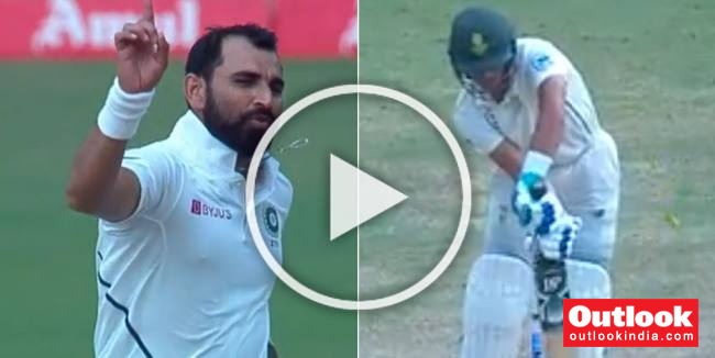 IND Vs SA, Ranchi Test: Fiery Mohammed Shami Makes Minnows Out Of South Africa - WATCH