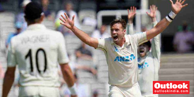 ENG Vs NZ, 1st Test, Day 4: Tim Southee Rocks England But Defiant Rory Burns Keeps New Zealand At Bay