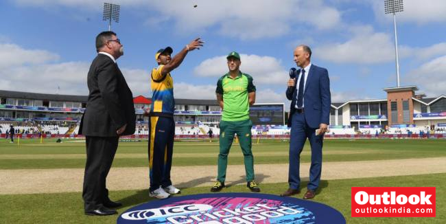Cricket World Cup, SL Vs SA: South Africa's Faf Du Plessis Wins Toss, Elects To Bowl First Against Sri Lanka
