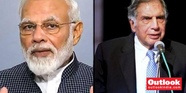 PM Modi Lauds Tata Group For Its Role In India's Development