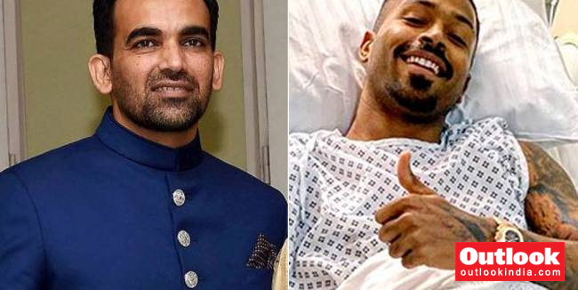 Self-Aggrandising Hardik Pandya Ends Up Making A Fool Out Of Himself, Courtesy A Simple Thank You Note From Zaheer Khan